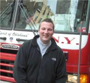 Christoph Wichmann während eines Studienaufenthaltes in den USA.